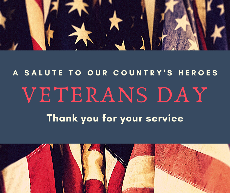 Happy Veterans Day Synergy Carpet Cleaning 707-280-5789